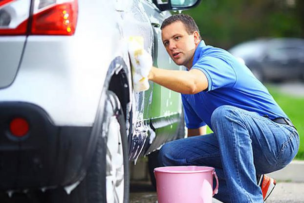 washing-a-car